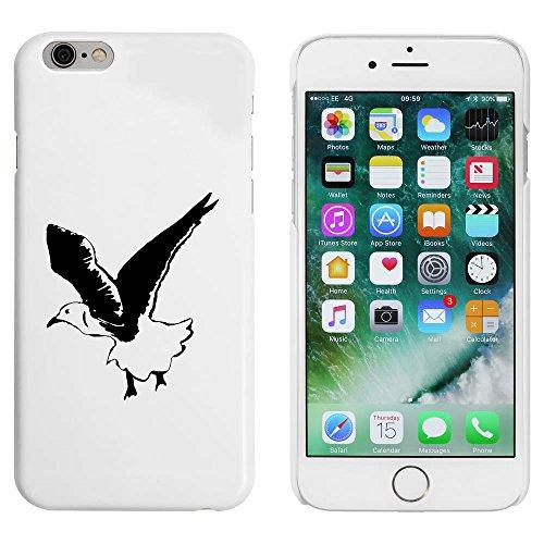 Blanc 'Mouette Volante' étui / housse pour iPhone 6 & 6s (MC00051778)