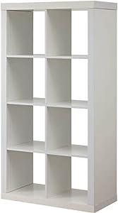 Modern Better Homes and Gardens 8-Cube Organizer, by Better Homes and Gardens (White)