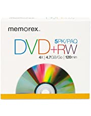 DVD+Rw - 4.7 Gb (120min) 4X - Jewel Case - Storage Media