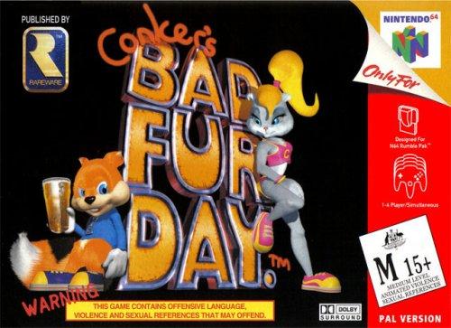 Conkers Bad Fur Day [Nintendo 64] (Fur Nintendo 64)