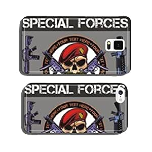 Special forces patch set - stock vector cell phone cover case iPhone6