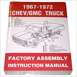 1967 68 69 70 71 72 Chevy Truck Factory Assembly Manual Chevrolet. Turn On 1click Ordering For This Browser. Chevrolet. 1972 C10 Chevy Truck Conversion Box Diagram At Scoala.co
