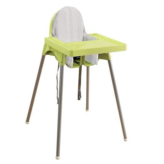 Axiba Silla comedor silla con cojín de silla alta hijos ...