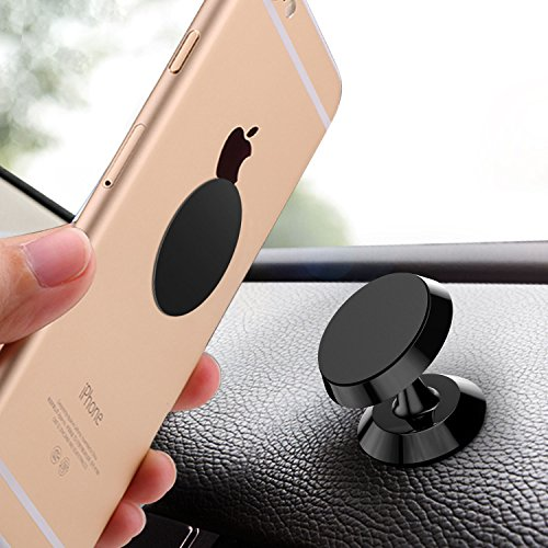 Magnetic Car Mount,HETBEES Car Phone Mount Universal Dashboard Magnetic Cell Phone Holder for iPhone X 8 7 Plus 6s 6 5s 5 Plus Samsung Galaxy S8 S7 Smartphone GPS and more Film Cell Factory