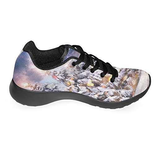 Multi Running Lightweight 9 Shoes Comfort Walking Womens Go Casual Easy Running InterestPrint Jogging Sneaker np7IqASv