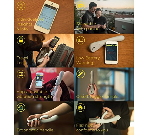 Lioness Smart Bluetooth Vibrator - Award-Winning Rabbit Massager and app to Improve Orgasms by LIONESS (Image #6)