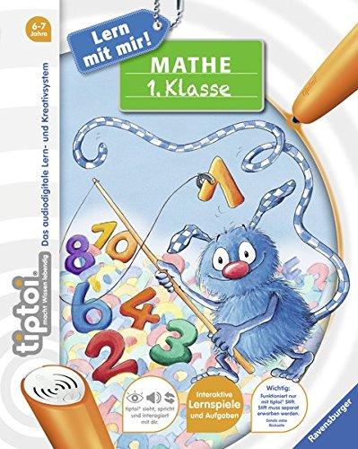 tiptoi® Mathe 1. Klasse (tiptoi® Lern mit mir!) Spiralbindung – 27. Februar 2015 Kai Haferkamp Franziska Harvey Ravensburger Buchverlag 347341803X