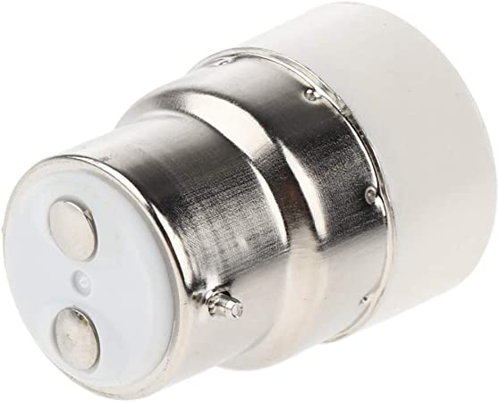 SeaStart Douille /à Vis Adaptateur Convertisseur Adaptateur B22 vers E14 Ampoule pour Lampe Aspect Pratique