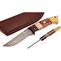 W Trading Custom hand made damascus steel blade gorgeous...