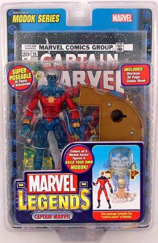 Marvel Legends Series 15 Action Figure Captain Marvel Genis-Vell Variant (Modok Figure)