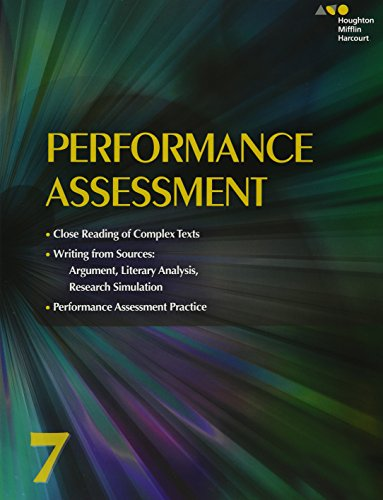 Collections: Performance Assessment Student Edition Grade 7
