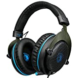 Latest-Version-Xbox-one-HeadsetPS4-Headset-SADES-R3-Gaming-Headset-Over-ear-Gaming-Headphones-with-xbox-one-Mic-for-Multi-Platform-New-Xbox-One-PC-PS4-with-Volume-Control-BlackBlue