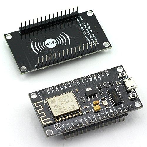 ZYAMY 2-Pack Wireless Module Connector CH340G NodeMcu Lua V3 WiFi Internet of Things Development Board Based On ESP8266 CH-340 Micro USB Serial Port