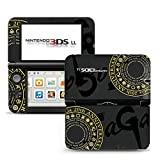 Romancing SaGa Black Limited Edition VINYL SKIN STICKER DECAL COVER for Nintendo 3DS XL / LL Console System
