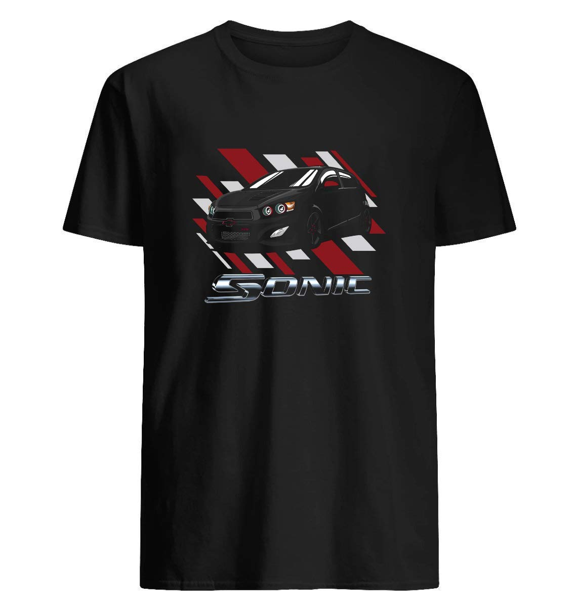 Chevy Sonic Vector 47 T Shirt For Unisex
