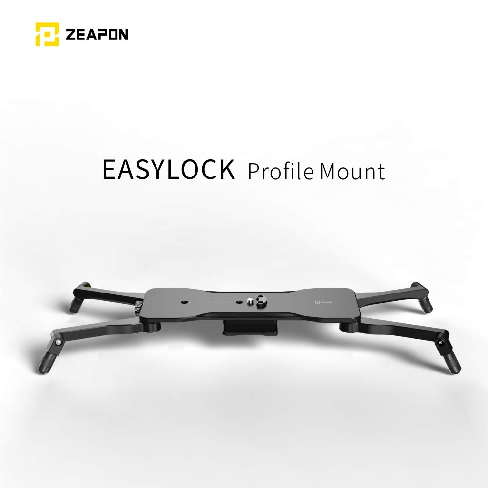 ZEAPON Easylock Low Profile Mount, Work with The Micro 2 Rail Sliders by ZEAPON