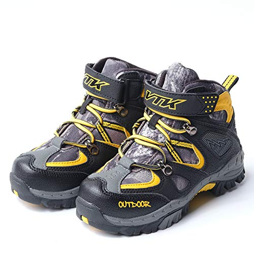 Pictures of Kid Hiking Boots Waterproof Thick Warm Snow 2