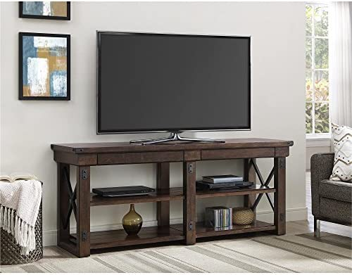 Altra Furniture Ameriwood Home Wildwood Wood Veneer TV Stand for