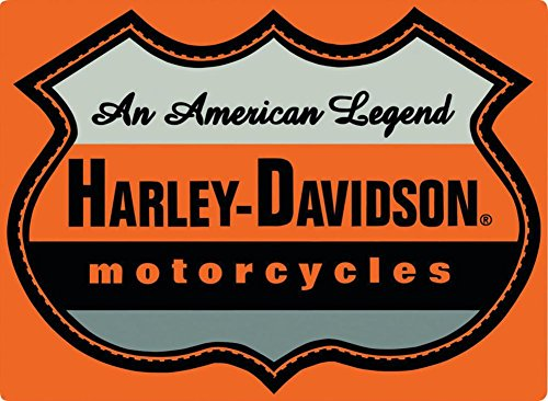 Harley Legend (Harley-Davidson - American Legend Embossed Tin Sign 17 x 13in)
