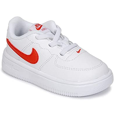 info for eb4d3 afa71 Nike Unisex Babies  Force 1  18 (td) Low-Top Slippers,