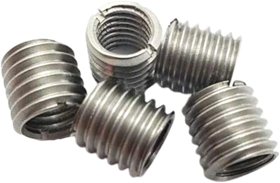 10mm to 8mm Female Threaded Rod Connectors // Reducers Pack of 5 M10 to M8