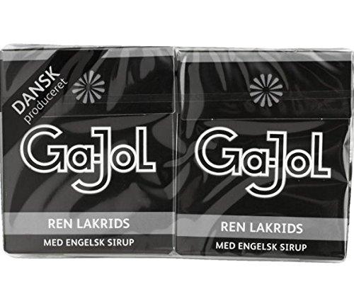 Ga-Jol Danish Pastilles - Pure Liquorice With English Sirup