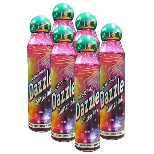Dazzle Six Pack 3oz Grün Bingo Dauber Clarence J Venne