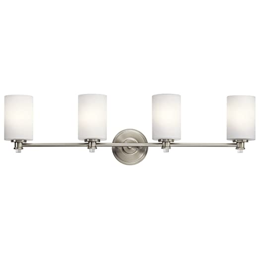 Amazon.com: Kichler lighting joelson níquel cepillado 4 ...