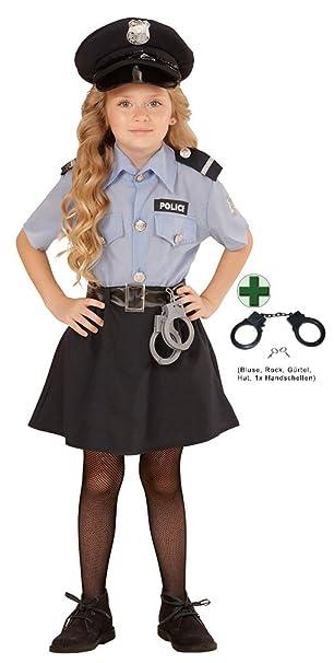 Karneval Klamotten Kostum Polizistin Sandra Madchen Kostum Kinder