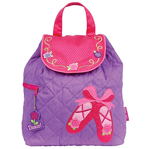 (Stephen Joseph Quilted Backpack, Ballet)