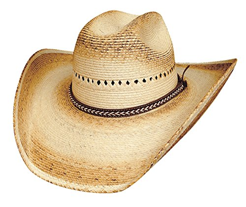 - Bullhide Hats 2812 Rodeo Round-up Collection Turn Around 15X Natural Cowboy Hat