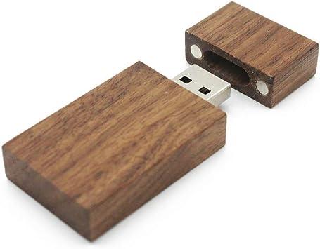 ToomLight USB Flash Drive de Madera + Caja Pendrive 4GB 8GB 16GB 32GB 71GB Diseño para Fotografía Regalo de Boda: Amazon.es: Electrónica