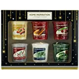Yankee Candle Home Inspiration candele votive Christmas Scents Gift set–Confezione da 6