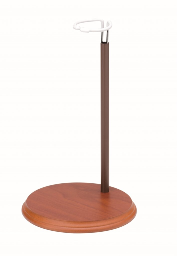 GLOREX Puppenständer, Holz, Natur, 16.5 x 16.5 x 23 cm GLOREX Puppenständer GLOREX GmbH 0 1162