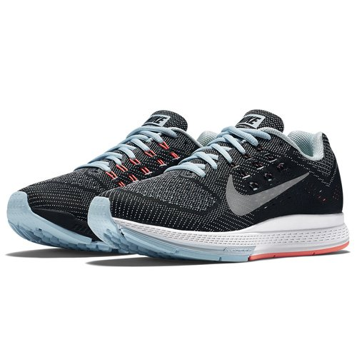 Nike Nike Zoom Structure 18 - Zapatillas Mujer, Gris (Ice / Metallic Silver Hot Lava Black), 36 EU: Amazon.es: Zapatos y complementos