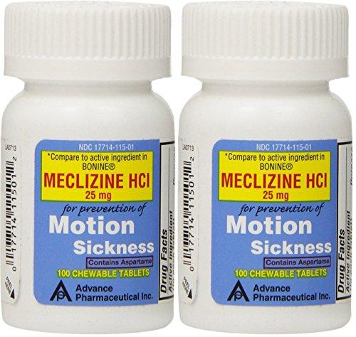 Dramamine Vs Meclizine For Motion Sickness