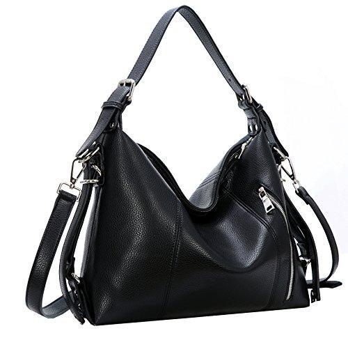 Leather Hobo Handbags - 9