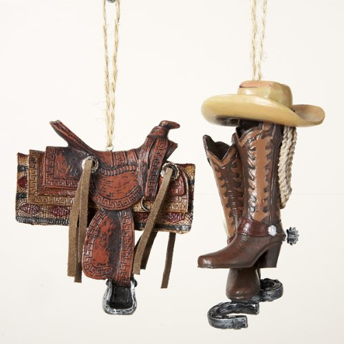 Western Cowboy Equipment Ornaments