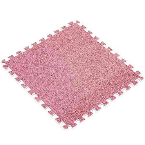 (Hot Sale!DEESEE(TM)3030cm Kids Carpet Foam Puzzle Mat EVA Ant Velvet Baby Eco Floor 8 colors (E))