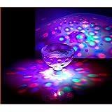 RGB della luce di incandescenza, DLAND 5 modelli di luce colore che cambia Colorful Bagno LED della discoteca AquaGlow luce impermeabile in vasca Stagno Centro Spa Hot Tub Vasca da bagno galleggiante lampada