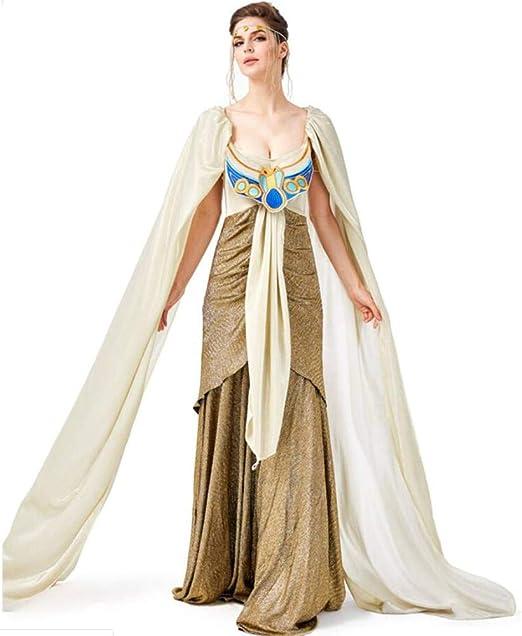ASDF - Falda Larga de Cleopatra para Disfraz Egipcio Antiguo para ...