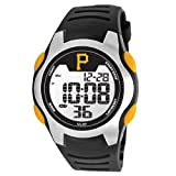 Pittsburgh Pirates Game Time Training Camp Digital Wrist Watch P Logo