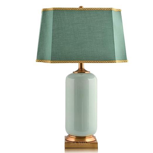 Lámpara de mesa de cerámica, lámpara de mesita de noche ...