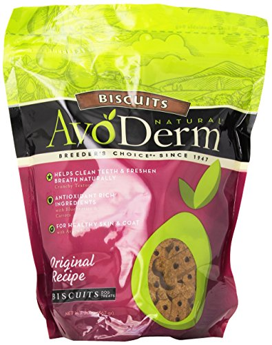 BREEDER'S CHOICE 528085 6-Pack Avoderm Natural Oven-Baked Original Biscuits for Pets, 20-Ounce