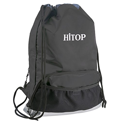 HITOP Waterproof Drawstring Backpack Bookbags, Swim Sports G