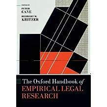 The Oxford Handbook of Empirical Legal Research