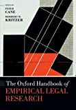 img - for The Oxford Handbook of Empirical Legal Research (Oxford Handbooks) book / textbook / text book