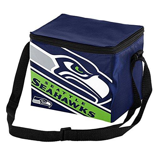 Seattle Seahawks Big Logo Stripe 12 Pack Cooler (Team Cooler)
