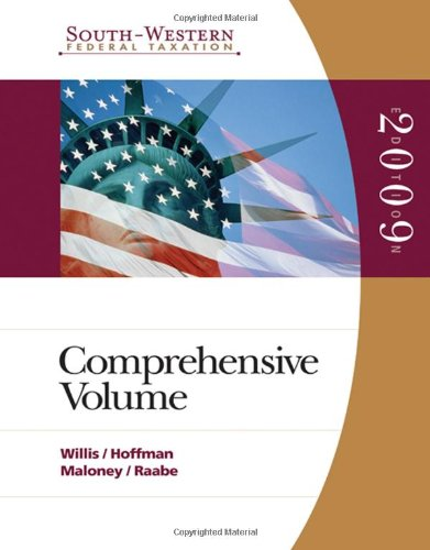 South-Western Federal Taxation: Comprehensive 2009 (with TaxCut Tax Preparation Software CD-ROM)