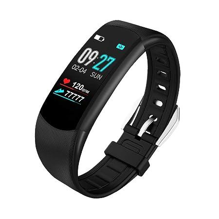ZNSBH Smartwatch, Impermeable Reloj Inteligente con Cronómetro ...